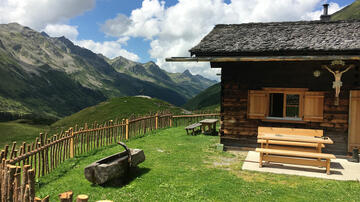 Mountain hut in the Montafon