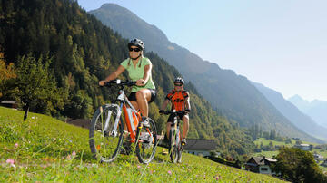 Cycling in the Montafon
